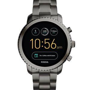 NWT Gen 3 Smartwatch Q Explorist Smoke Stainless